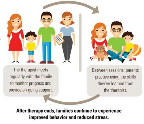 family therapy helps in each member's emotional and mental problems.